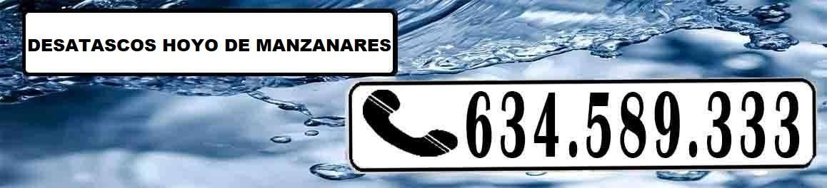 Desatascos Hoyo de Manzanares Urgentes